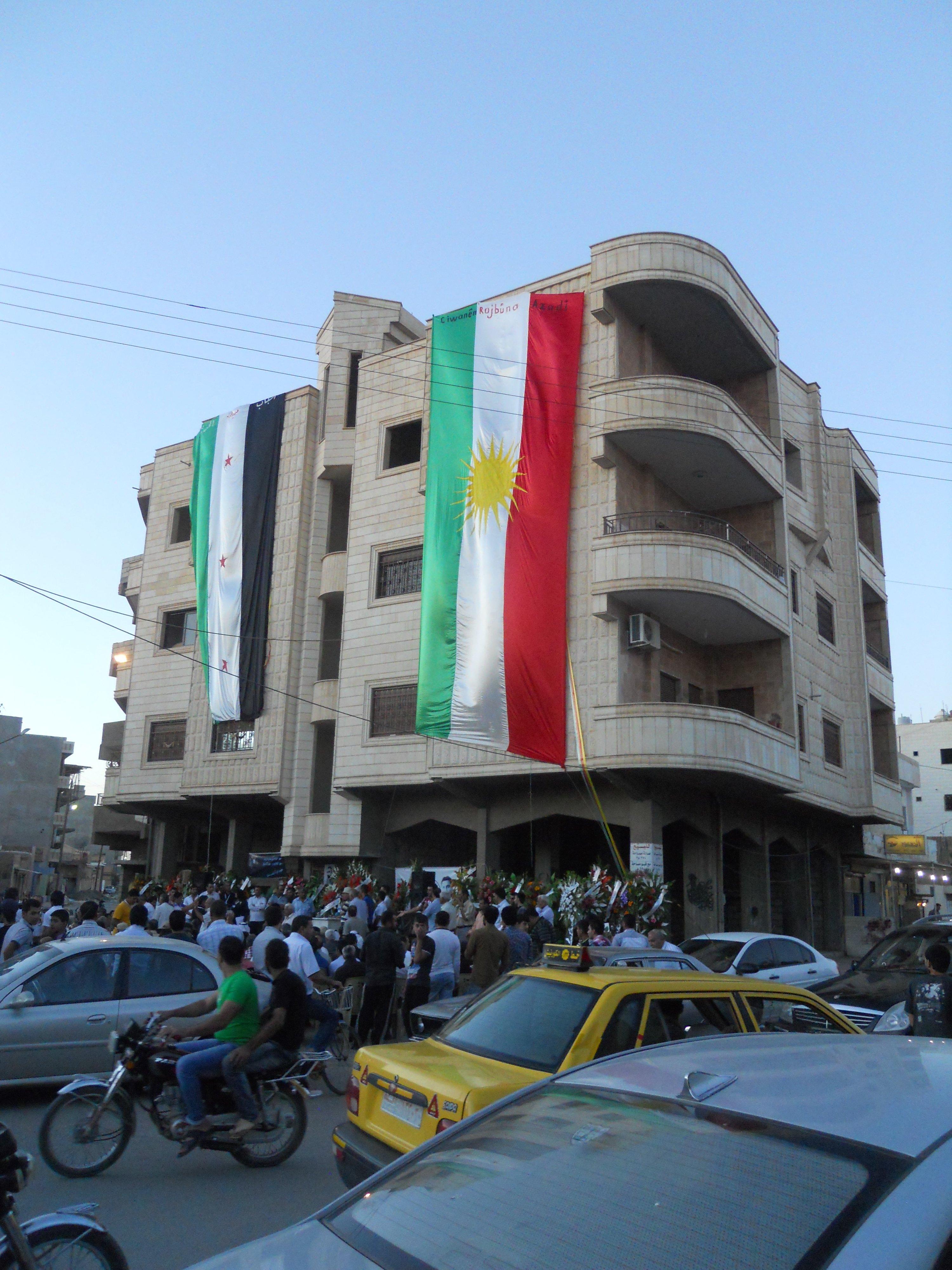 Explosion at Syrian Intelligence Center in Qamişlo